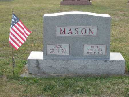 PURTEE MASON, RUTH - Adams County, Ohio | RUTH PURTEE MASON - Ohio Gravestone Photos