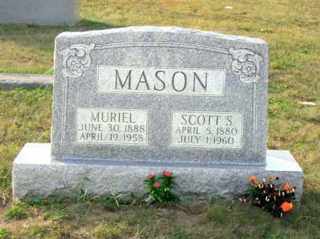 MASON, SCOTT S. - Adams County, Ohio | SCOTT S. MASON - Ohio Gravestone Photos