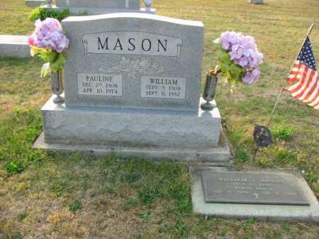 EUBANKS MASON, PAULINE - Adams County, Ohio   PAULINE EUBANKS MASON - Ohio Gravestone Photos