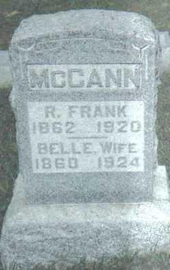 MCCANN, BELLE - Adams County, Ohio   BELLE MCCANN - Ohio Gravestone Photos