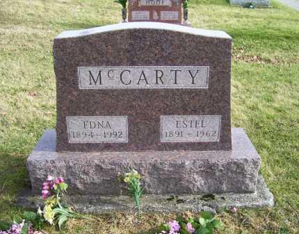 MCCARTY, EDNA - Adams County, Ohio | EDNA MCCARTY - Ohio Gravestone Photos