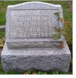 MCCARTY, RAYMOND - Adams County, Ohio   RAYMOND MCCARTY - Ohio Gravestone Photos