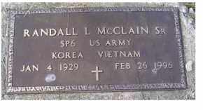 MCCLAIN, RANDALL L. - Adams County, Ohio | RANDALL L. MCCLAIN - Ohio Gravestone Photos