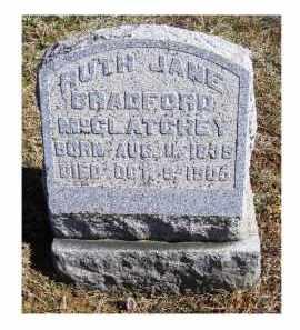 BRADFORD MCCLATCHEY, RUTH JANE - Adams County, Ohio | RUTH JANE BRADFORD MCCLATCHEY - Ohio Gravestone Photos