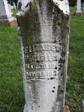 BURNS MCCLELLAND, ELIZABETH - Adams County, Ohio | ELIZABETH BURNS MCCLELLAND - Ohio Gravestone Photos