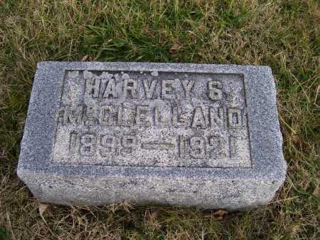 MCCLELLAND, HARVEY S. - Adams County, Ohio   HARVEY S. MCCLELLAND - Ohio Gravestone Photos