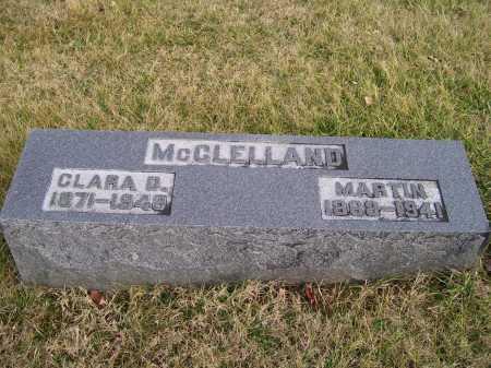 MCCLELLAND, MARTIN - Adams County, Ohio | MARTIN MCCLELLAND - Ohio Gravestone Photos