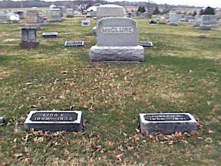 MCCLURE, LIDA - Adams County, Ohio | LIDA MCCLURE - Ohio Gravestone Photos
