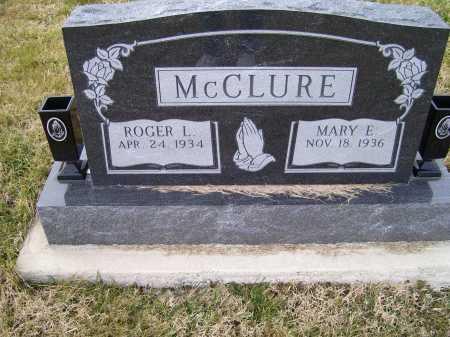 MCCLURE, MARY E. - Adams County, Ohio | MARY E. MCCLURE - Ohio Gravestone Photos