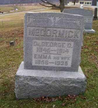 MCCORMICK, EMMA - Adams County, Ohio | EMMA MCCORMICK - Ohio Gravestone Photos