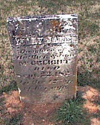 MCCREIGHT, MARY JANE - Adams County, Ohio   MARY JANE MCCREIGHT - Ohio Gravestone Photos
