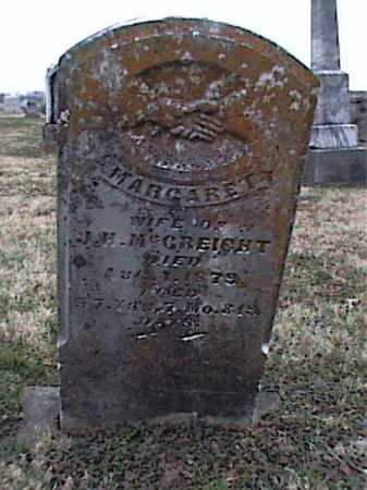 MCCREIGHT, MARGARET - Adams County, Ohio | MARGARET MCCREIGHT - Ohio Gravestone Photos