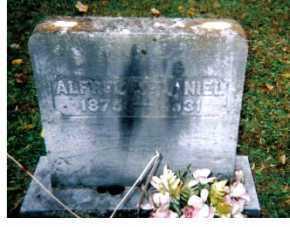 MCDANIEL, ALFRED - Adams County, Ohio   ALFRED MCDANIEL - Ohio Gravestone Photos