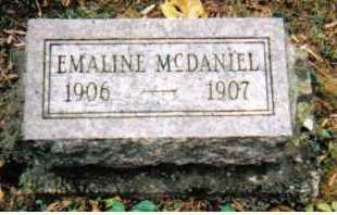 MCDANIEL, EMALINE - Adams County, Ohio   EMALINE MCDANIEL - Ohio Gravestone Photos