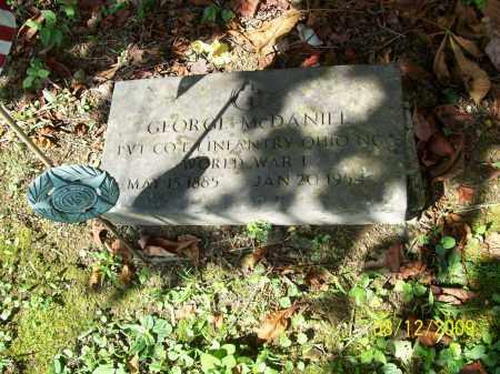 MCDANIEL, GEORGE - Adams County, Ohio | GEORGE MCDANIEL - Ohio Gravestone Photos