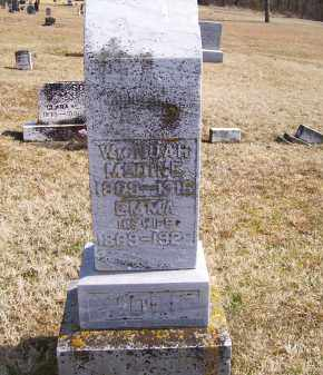 MCDINE, WILLIAM NOAH - Adams County, Ohio | WILLIAM NOAH MCDINE - Ohio Gravestone Photos