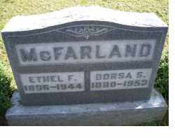 MCFARLAND, ETHEL F. - Adams County, Ohio | ETHEL F. MCFARLAND - Ohio Gravestone Photos