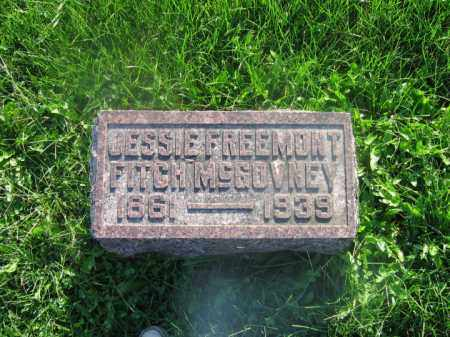 MCGOVNEY, JESSIE FREMONT - Adams County, Ohio | JESSIE FREMONT MCGOVNEY - Ohio Gravestone Photos
