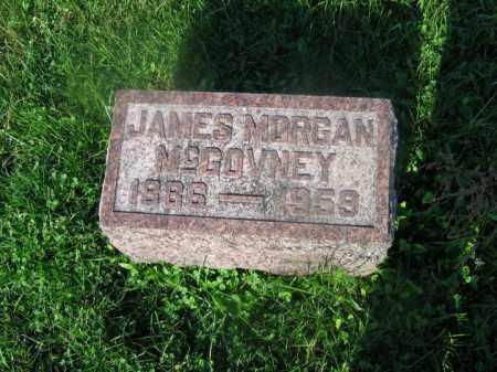 MCGOVNEY, JAMES MORGAN - Adams County, Ohio   JAMES MORGAN MCGOVNEY - Ohio Gravestone Photos