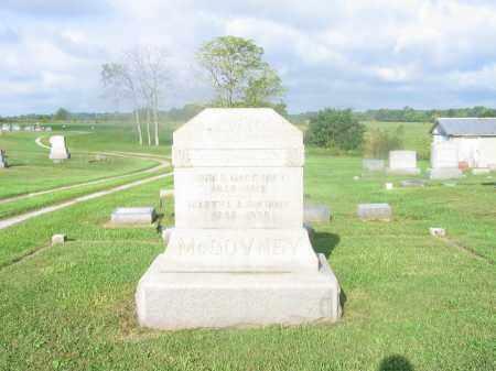 MCGOVNEY, JOHN HOLMES - Adams County, Ohio | JOHN HOLMES MCGOVNEY - Ohio Gravestone Photos