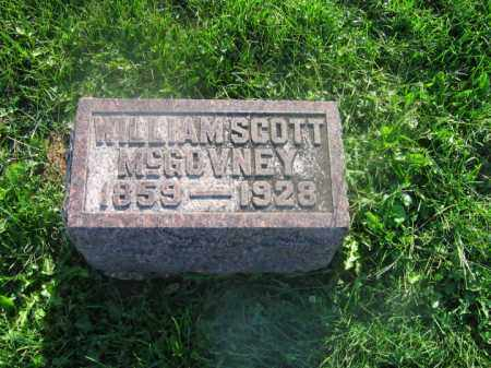 MCGOVNEY, JR., WILLIAM SCOTT - Adams County, Ohio | WILLIAM SCOTT MCGOVNEY, JR. - Ohio Gravestone Photos
