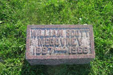 MCGOVNEY, JR., WILLIAM SCOTT - Adams County, Ohio | WILLIAM SCOTT MCGOVNEY, JR. - Ohio Gravestone Photos