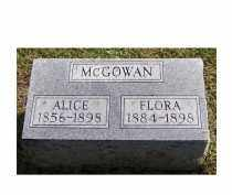 MCGOWAN, FLORA - Adams County, Ohio | FLORA MCGOWAN - Ohio Gravestone Photos