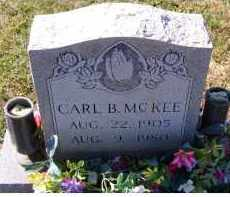 MCKEE, CARL B. - Adams County, Ohio | CARL B. MCKEE - Ohio Gravestone Photos