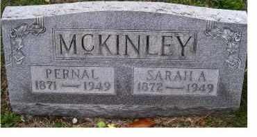 MCKINLEY, PERNAL - Adams County, Ohio | PERNAL MCKINLEY - Ohio Gravestone Photos