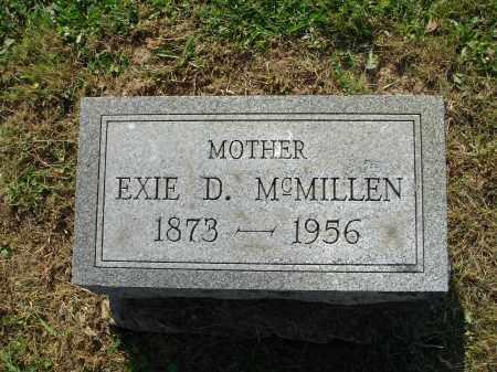 MCMILLEN, EXIE D. - Adams County, Ohio | EXIE D. MCMILLEN - Ohio Gravestone Photos