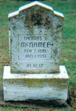 MCNAMEE, THOMAS J. - Adams County, Ohio | THOMAS J. MCNAMEE - Ohio Gravestone Photos