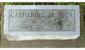 MCNEER, CATHERINE - Adams County, Ohio | CATHERINE MCNEER - Ohio Gravestone Photos