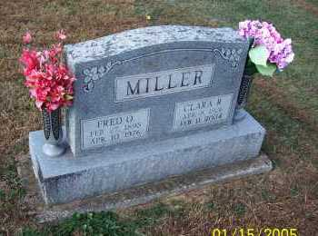 MILLER, FRED O. - Adams County, Ohio | FRED O. MILLER - Ohio Gravestone Photos