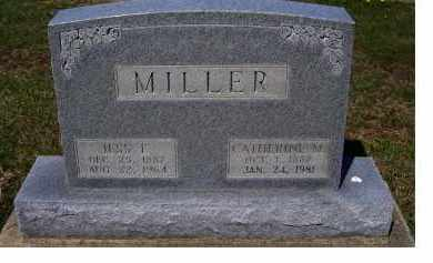MILLER, CATHERINE M. - Adams County, Ohio | CATHERINE M. MILLER - Ohio Gravestone Photos