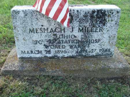 MILLER, MESHACH J. - Adams County, Ohio | MESHACH J. MILLER - Ohio Gravestone Photos