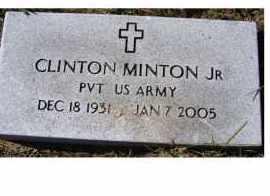 MINTON, CLINTON JR - Adams County, Ohio | CLINTON JR MINTON - Ohio Gravestone Photos