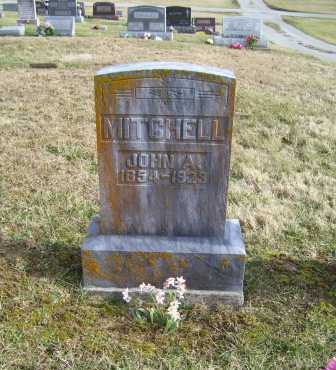 MITCHELL, JOHN A. - Adams County, Ohio | JOHN A. MITCHELL - Ohio Gravestone Photos