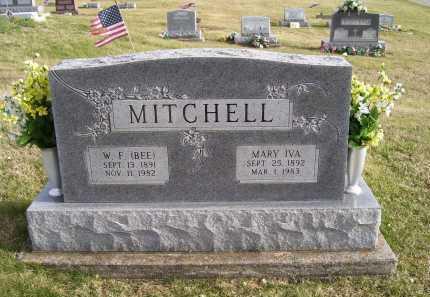 MITCHELL, MARY IVA - Adams County, Ohio   MARY IVA MITCHELL - Ohio Gravestone Photos