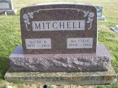 MITCHELL, WM. CLEVE - Adams County, Ohio   WM. CLEVE MITCHELL - Ohio Gravestone Photos