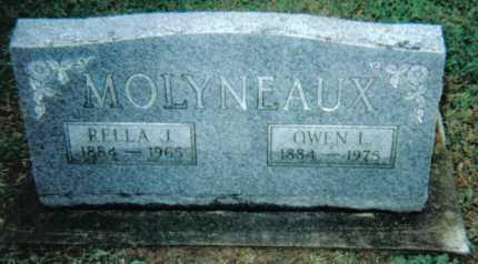 MOLYNEAUX, RELLA J. - Adams County, Ohio | RELLA J. MOLYNEAUX - Ohio Gravestone Photos