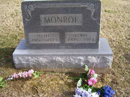 MONROE, LEWIS - Adams County, Ohio | LEWIS MONROE - Ohio Gravestone Photos