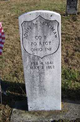 MOOMAW, JOHN N. - Adams County, Ohio | JOHN N. MOOMAW - Ohio Gravestone Photos