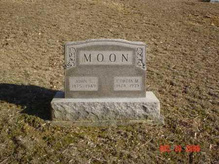 MOON, CORDIA M. - Adams County, Ohio | CORDIA M. MOON - Ohio Gravestone Photos