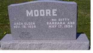MOORE, BARBARA ANN - Adams County, Ohio | BARBARA ANN MOORE - Ohio Gravestone Photos