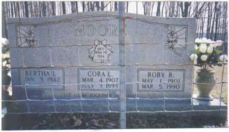 MOORE, ROBY R. - Adams County, Ohio | ROBY R. MOORE - Ohio Gravestone Photos