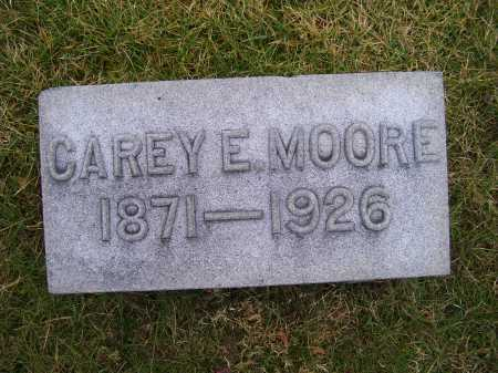 MOORE, CAREY E. - Adams County, Ohio | CAREY E. MOORE - Ohio Gravestone Photos