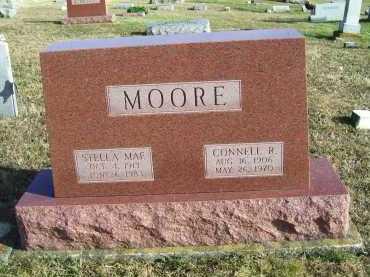 MOORE, CONNELL R. - Adams County, Ohio | CONNELL R. MOORE - Ohio Gravestone Photos