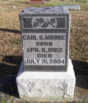 MOORE, CARL S. - Adams County, Ohio   CARL S. MOORE - Ohio Gravestone Photos