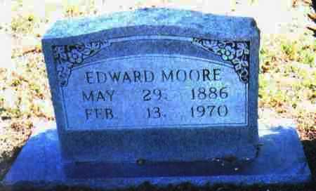 MOORE, EDWARD - Adams County, Ohio   EDWARD MOORE - Ohio Gravestone Photos