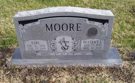 MOORE, EARL - Adams County, Ohio | EARL MOORE - Ohio Gravestone Photos